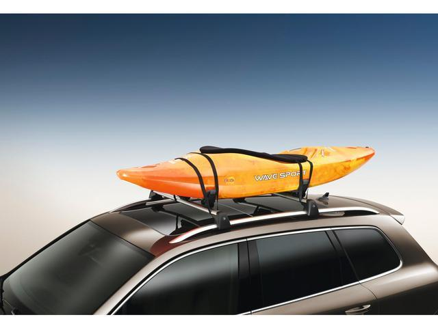 Diagram Base Carrier Bars and Kayak Holder Attachment (NPN071037) for your Volkswagen